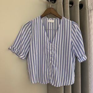 Mustard Seed Striped Blouse